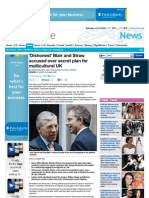 219. 'Dishonest' Blair and Straw - Plans for Multicultural UK