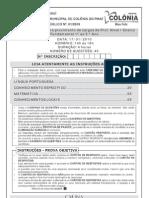 CCID1 Prova Professor Nivel i Ens Fundamental 1 Ao 5 Ano