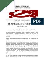 El Marxismo y su método-grupo germinal