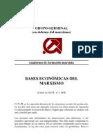 Bases Economicas Del Marxismo - Grupo Germinal