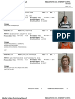 Sequatchie County Arrests From 06-10-2012 To 06-12-2012