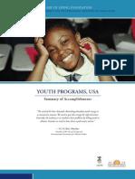 Art of Living YES!+ YesPlus Youth Program U.S. Report