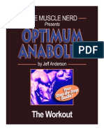 Optimum Anabolics - The Workout
