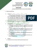 NSM Department Orientation Day Concept Paper