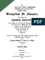 jakob Lorber - Großes Evangelium Johannes Band 1 1871