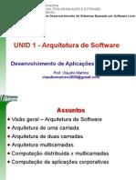 u01-Arquitetura de Software Multicamadas