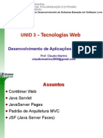 u03 Tecnologias Web na Arquitetura JEE