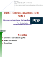 u04 - Enterprise JavaBeans(EJB) Parte1
