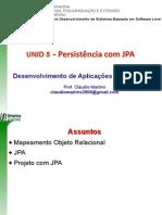 u05-Persistência com JPA para JEE