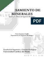Procesamiento de Minerales UCN