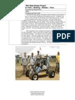 03-04 SAE Mini Baja Design Project-Power Train, Braking, Wheels, And Tires