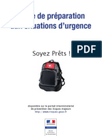 Guide de preparation aux situations d'urgence