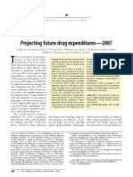 Projecting Future Drug Expenditures 2007