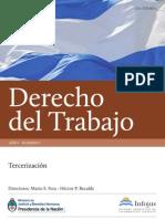Revista Infojus Derecho del Trabajo Número 1 Año 1