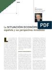 Situacion economica española. Opinión Valentín Pich