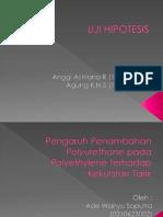Uji Hipotesis - Anggi & Agung