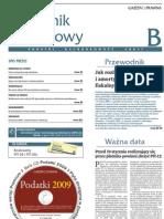 tygodnik podatkowy z 5 stycznia 09 (nr 2)
