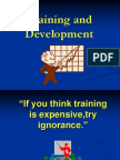 Training and Development - Power Point Presentation[1]