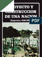 AAVV - Proyecto y Construccion de Una Nacion (Argentina 1846-1880)