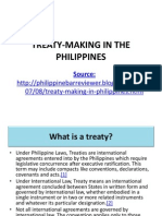 Treaty-making in the Philippines