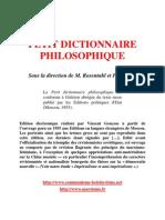 Petit Dictionnaire Philosophique Moscou 1955