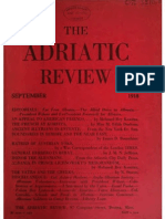 The Adriatic Review - Boston (Sept 1918 - Oct 1919) - Fan Noli / Vatra