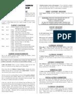 All Saints Bulletin 2009-01-04