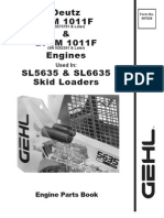 SL5635 6635 Skid Loader Deutz F4M 1011F SN 0275761 and Later BF4M 1011F SN 0262361 and Later Engine Parts Manual 907828