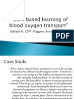 Case Based Learning of Blood Oxygen Transport