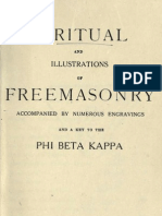 A Ritual and Illustrations of Freemasonry - Phi Beta Kappa