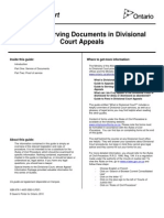 Guide to Serving Documents En