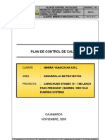 Plan de Calidad Estacion de Bombeo Electrico e Instrumentacion Rev2