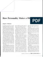 How Personality Makes a Difference_PLUMMER_2000