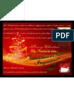 Tarjeta de Navidad 2008