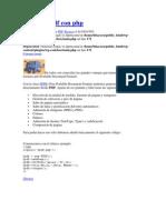 Crear Un PDF Con Php