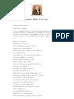 La Rima Del Viejo Marinero - Coleridge, Samuel T