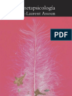 Paul-Laurent Assoun -  La Metapsicología