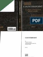 Schenker, Heinrich - Counterpoint - Book I