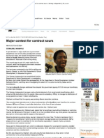 Print - Major Contest for Contract Sours - Sunday Independent _ IOL
