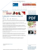 Print - S Africa Denies Wrongdoing in Alleged Deal_Africa_chinadaily