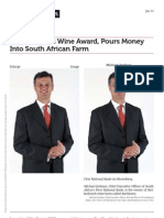 Www.bloomberg.com Banker Toasts Wine Award Pours Money Into South African Farm