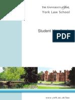 1st Year Student Handbook 2011.12