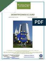 DESMITIFICANDO EL EURO (Es) DEMYSTIFYING THE EURO (En) EUROA DESMITIFIKATZEN (Eus)