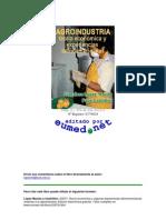 Agroindustria Teorías Económicas y Experiencias Latinoamericanas