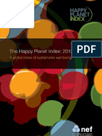 Happy Planet Index Report
