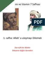 yunus emre islamın 7 safhasını anlatıyor