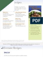 Diabetic Friendly Cookbook 091608
