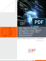 The Chinese People's Liberation Army Signals Intelligence and Cyber Reconnaissance Infrastructure - Mark A. Stokes, Jenny Lin,  L.C. Russell Hsiao
