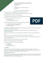 Planeacion y Desarrollo Del Producto