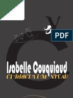 Curriculum Vitae Isabelle Couquiaud